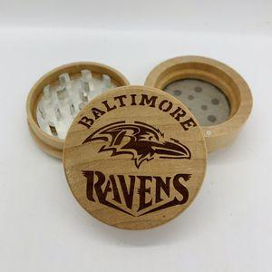 Ravens laser engraved wood kitchen herb grinder Christmas gift kitchen pop for Sale in Los Angeles, CA