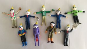 Jack In The Box bendy figures-collection of 9 Toys for Sale in Tempe, AZ