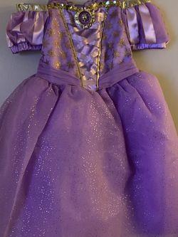 Princess Rapunzel Costume Dress Size 4 for Sale in Monterey Park,  CA