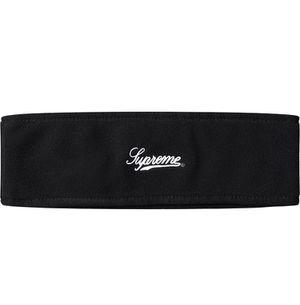 Supreme polartec logo black headband fw 17 for Sale in Inman, SC