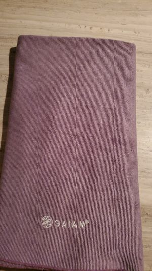 Gaiam yoga towel/mat cover for Sale in Tacoma, WA