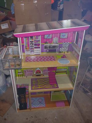 Barbie dream house doll house for Sale in Elgin, IL