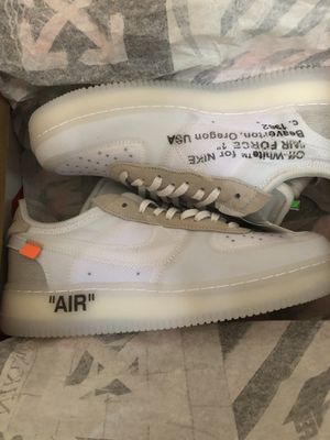 """ The Ten"" Off white Air Force ones SIZE 9 for Sale in Phoenix, AZ"