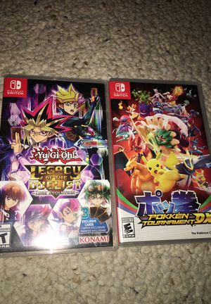 Yugioh Legacy of the Duelist and Pokken Tournament for Sale in Scottsdale, AZ