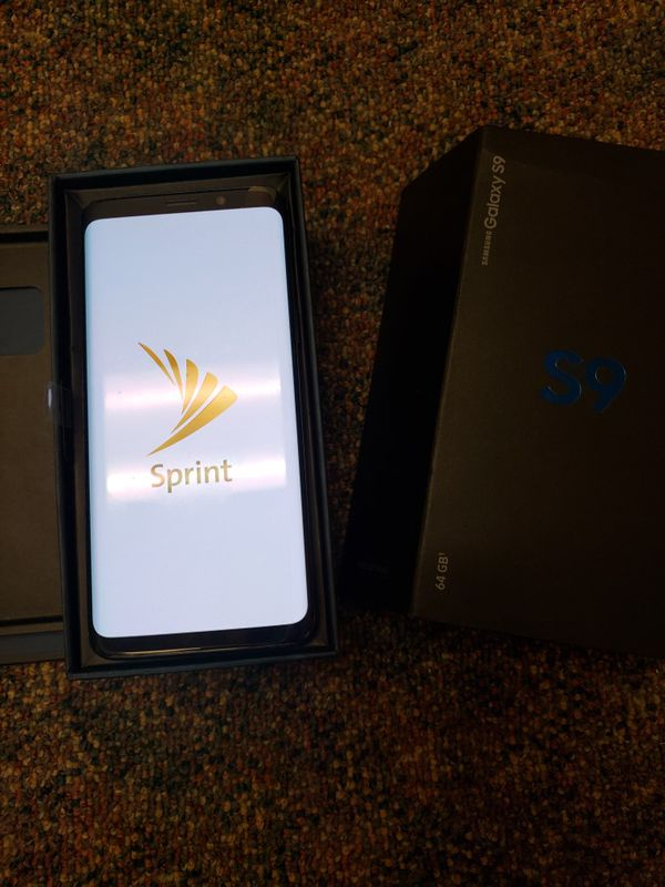 Samsung galaxy S9 in excellent condition