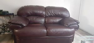 Ashley Brand leather couch for Sale in Tulsa, OK