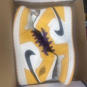 Air Jordan 1 Mid Lakers for Sale in Atlanta, GA