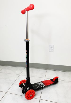 """New $18 each Kids Kick Scooter LED Light Up 3-Wheel for Toddlers Girls & Boys Adjustable Height 28""""-35"""" for Sale in South El Monte, CA"""