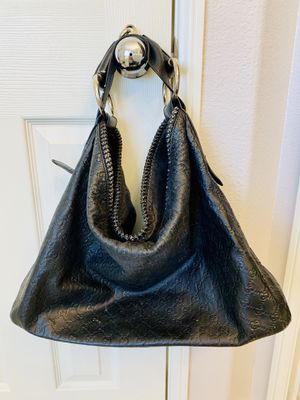 Faux Leather GG Black Hobo Tote Purse / Handbag / Shoulder Bag for Sale in Etiwanda, CA