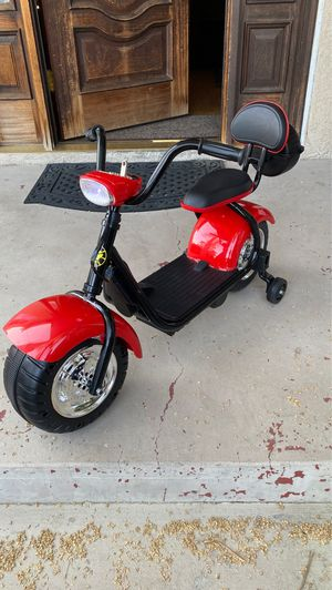 Ride on Two Wheel Kids Bike Electric Motorcycle Mini Electric Scooter for Kids for Sale in West Covina, CA