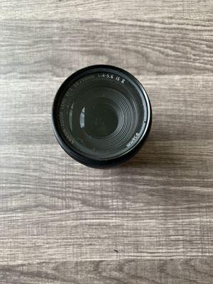 Canon 55-250mm w/ filter for Sale in Richmond, VA