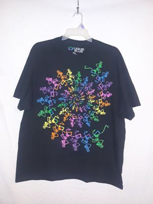 2XL Grateful Dead Spiral Dancing Skeletons T Shirt - NEW for Sale in Henderson, NV