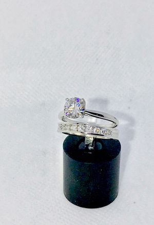 1.12 Carat Diamond Ring (14kt Gold), + .45CTW Band (14kt Gold) for Sale in Chicago, IL