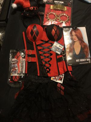 Harley Quinn cosplay outfit small/medium for Sale in Phoenix, AZ