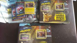Pokemon Detective pickachu lot of 3 brand new for Sale in Hemet, CA