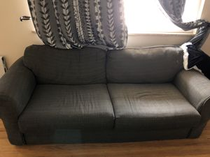 Grayish Blue Couch for Sale in Evergreen, CO