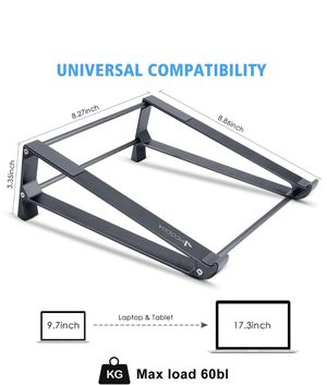 Laptop Stand, 2-1 Laptop Desk Stand, Vertical Laptop Stand for Space-Saving, Ergonomic Laptop Stand for Sale in Rowland Heights, CA