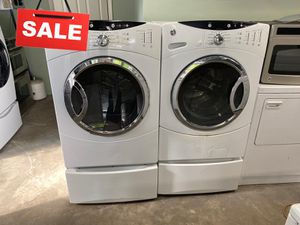 Ask for Delivery! Washer Electric Dryer Set GE MESSAGE NOW! #1508 for Sale in Deltona, FL