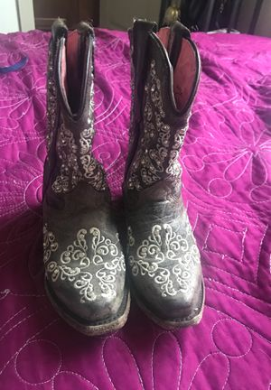 Girl wester boots for Sale in Austin, TX