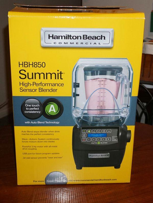 hamilton beach summit HBH850 commercial blender