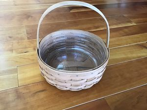 Beautiful unique Longaberger basket in very good condition from a clean, non-smoking, pet free home for Sale in Dover, PA