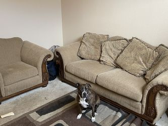 Couch and chair loveseat for Sale in Henderson,  NV