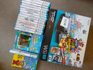 Nintendo wiiU with games amiibo for Sale in Seattle, WA
