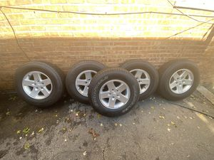Jeep Wrangler wheels and tires for Sale in Burbank, IL