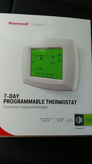 Honeywell 7 day programmable thermostat for Sale in LAUD LAKES, FL