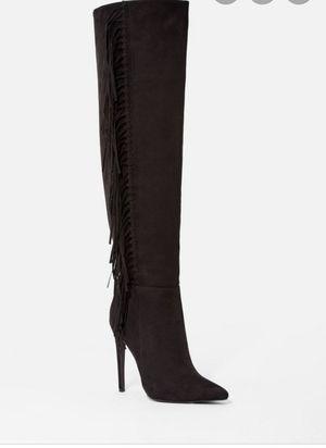 Fringe heel boot for Sale in Philadelphia, PA