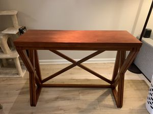 dining / breakfast / side table with extendable leaf for Sale in Arlington, VA
