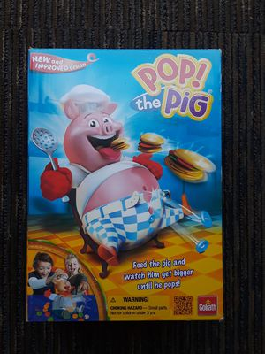Pop the pig game, new - open box. for Sale in Riverside, CA