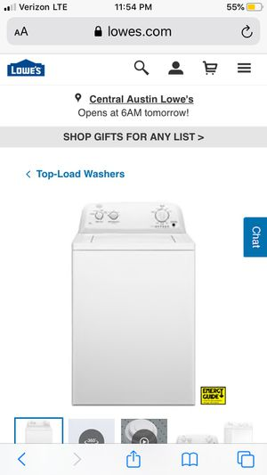 Roper top load washer for Sale in Lufkin, TX