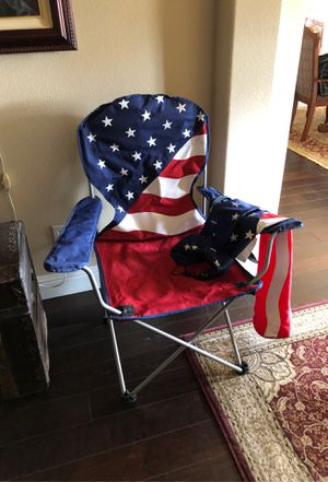 Stars & stripes camping chair. for Sale in Kingsburg, CA