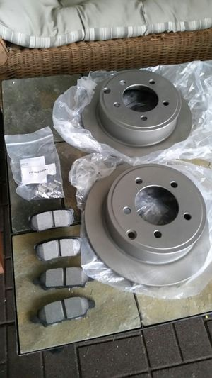 DODGE MOPAR CHRYLER Rear Brake rotors and pads for Sale in Wildwood, MO