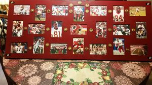 "Redskins collectible collage 32×42"" for Sale in Hampton, VA"