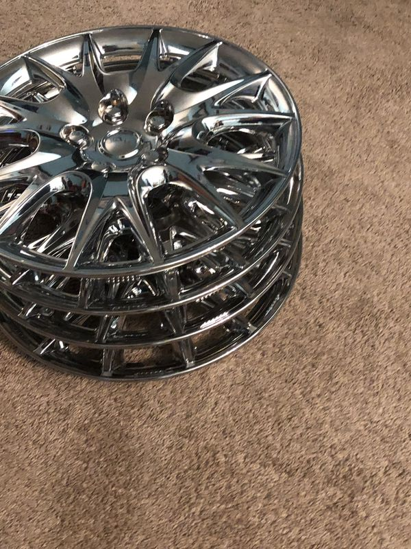 Chrome rim cover for Honda Accord