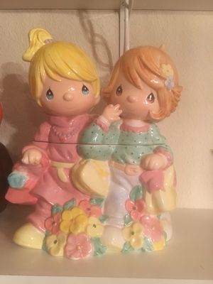 Precious Moments cookie jar collectible $45 for Sale in Modesto, CA
