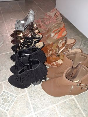 Heels Shoes, Size 7 1/2 , 8 , 81/2 ( 25. For All ) They are all in good condition for Sale in Princeton, TX