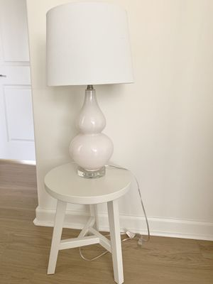 Pottery Barn light pink table lamp for Sale in Yorba Linda, CA
