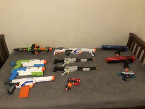 Nerf Guns/Water guns. for Sale in Antioch, CA