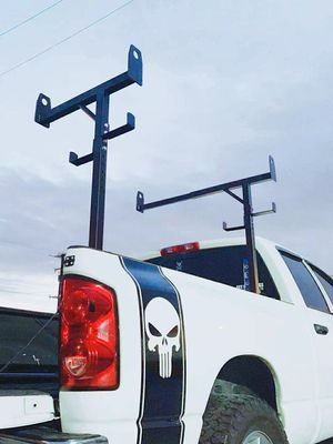 New in box side mount 400 lbs capacity commercial contractor pickup truck bed universal adjustable ladder rack truck rack for Sale in Whittier, CA