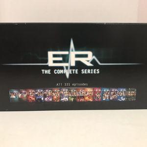 ER Complete Series Box Set DVD Seasons 1 - 15 for Sale in Houston, TX
