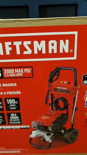 Craftsman pressure washer 3000 psi for Sale in Bellevue, WA
