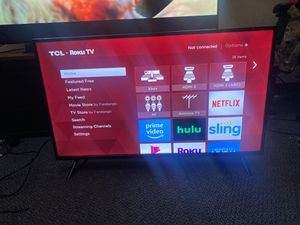 40'' TLC Roku TV for Sale in Lewis McChord, WA