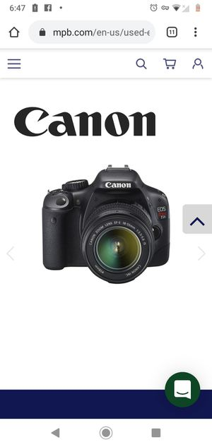 Canon EOS Rebel T2i with 18-200mm lens for Sale in Los Angeles, CA