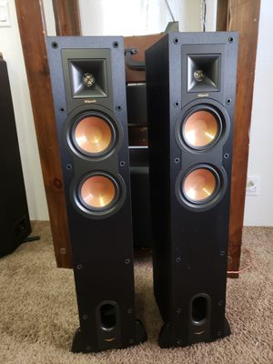 KLIPSCH Reference series RF-24F Floor speakers in great used conditio for Sale in Peoria, AZ