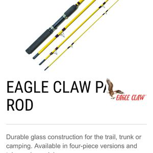 Eagle Claw Telescoping Bait Casting Rod for Sale in Denver, CO