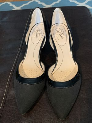 Life Stride patent and fabric heels size 9.5 for Sale in Parma, OH