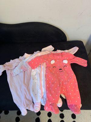 Newborn Girl Onesies/ Sleep & Play for Sale in Hillside, NJ